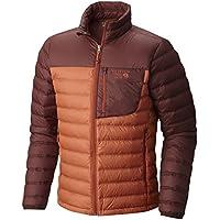 Mountain Hardwear Dynotherm Down Mens Jacket (Dark Copper, Redwood)