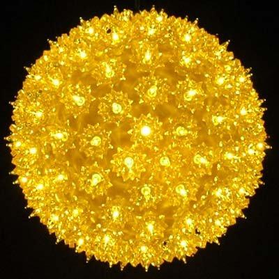 Red Bethlehem Lighting Indoor//Outdoor Hanging 50 Mini Starlight Sphere