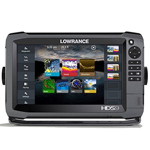 Lowrance 000-11791-001 HDS-9 GEN3 Insight Fishfinder/Chartplotter with CHIRP/StructureScan Sonar and 50/200KHz Transducer