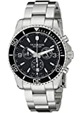 Victorinox Men's 241695 Maverick Chrono Analog Display Swiss Quartz Silver Watch