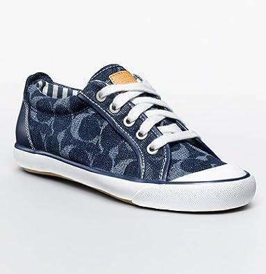 Womens Barrett Signature Sneakers (Indigo) (9 M US Womens): Shoes