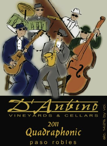 2011 D'Anbino Quadraphonic Red Blend 750 Ml