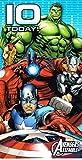 Marvel avengers assemble 10 today ! birthday card