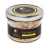 Sunrist Jar - Garlic & Ginger - Gourmet Dead Sea Salt (8.1 oz)
