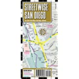 Streetwise San Diego Map - Laminated City Center Street Map of San Diego, California - Folding pocket size travel map with trolley lines