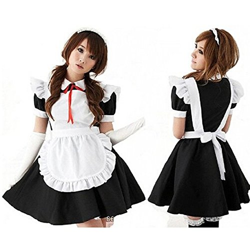 TAILUN Women's Lovely French Lolita Maid Anime Cosplay Costumes Uniform Fancy Dress