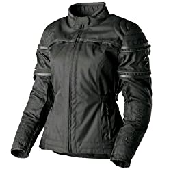 Scorpion Selene Women's Textile Sports Bike Motorcycle Jacket - Black / Medium