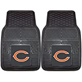 FANMATS NFL Chicago Bears Vinyl Heavy Duty Car Mat