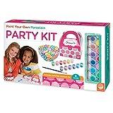 Mindware Paint Your Own Porcelain Party Kit, Multi Color