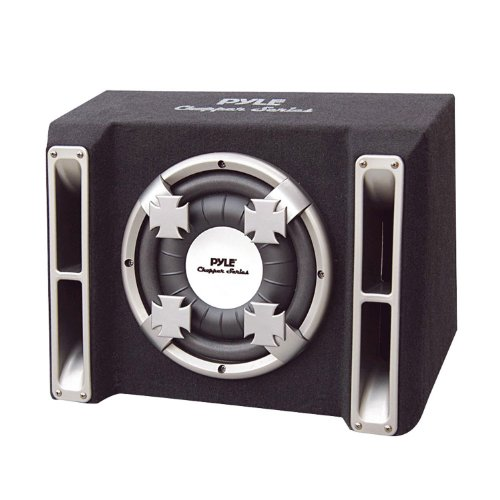 Pyle Single 10'' Slim Designed Subwoofer Bass Box Enclosure System