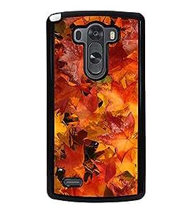 Autumn Leaves 2D Hard Polycarbonate Designer Back Case Cover for LG G3 :: LG G3 Dual LTE :: LG G3 D855 D850 D851 D852