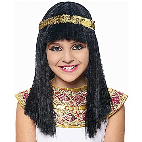 Kids Egyptian Cleopatra Wig - One Size