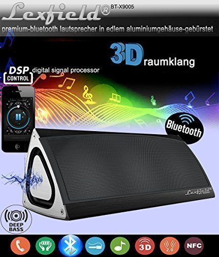 Bluetooth-CSR40-Lautsprecher-Triangle-3D-Sound-Ultra-Bass-DSP-Subwoofer-Funklautsprecher-Sehr-EDEL-Drei-Vektor-ALU-Gehuse-Digital-Signalprozessor-Stereo-3D-Breitband-Surround-Box-alu-gebrstet-eingebau