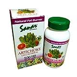 Artichoke Alcachofa 90 Caps 500mg Sanar Naturals Cholesterol and Fat Burning Supplement