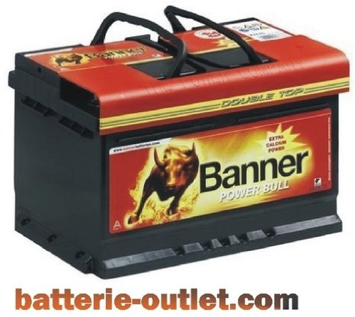 Autobatterie Starterbatterie Banner Power Bull