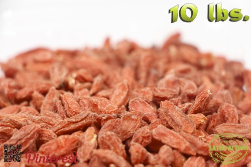 10 Lbs. Of Superfruit Immunity Enhancer Goji Berries Aka Wolfberries With Antioxidants & Vitamins [Ten Pounds]