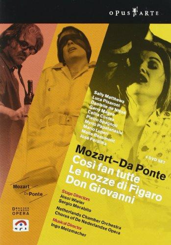 Da Ponte - Cosi Fan Tutte- Las Bodas De Figaro - Don Giovani - Mozart- DVD