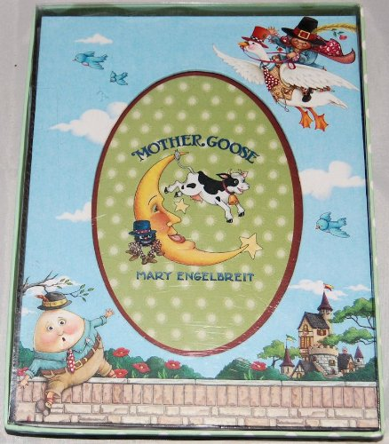 Mary Engelbreit Mother Goose Baby Picture Frame w/ Humpty Dumpty