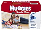 Huggies Simply Clean Fragrance Free B...