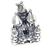 Pro Jewelry .925 Sterling Silver Castle Threaded Charm Bead