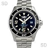[ブライトリング]BREITLING腕時計 スーパーオーシャン44 ブラック/ブルー Ref:A188B79PRS メンズ [中古] [並行輸入品]