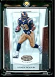 2007 Leaf Certified Materials Football # 61 Steven Jackson St. Louis Rams NFL Trading Card