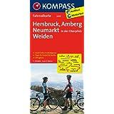 Hersbruck - Amberg - Neumarkt/Oberpfalz - Weiden: Fahrradkarte. GPS-genau. 1:70000 (KOMPASS-Fahrradkarten Deutschland)