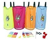 Toy - Hudora 76353 - Kinderpartyset, 25-teilig (H�pfs�cke und Zubeh�r)