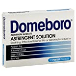 Domeboro Astringent Solution, Powder Packets, 12 packets
