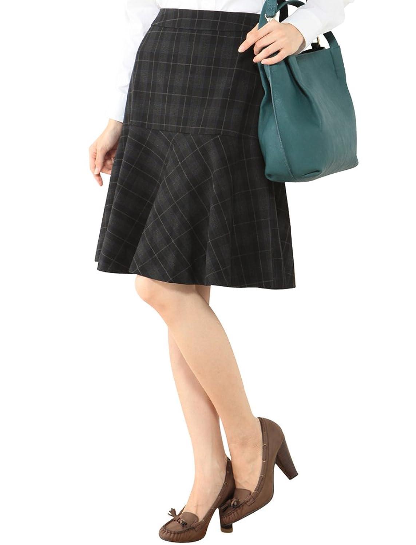 GIVORS★♪チェック切替フレアースカート GIVORS★♪チェック切替フレアースカート価格: