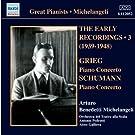 Arturo Benedetti Michelangeli Joue Schumann, Grieg Et Debussy