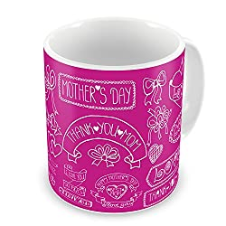 Gift for Mom Mothers Day Birthday Anniversary Mother Love Best Mom Purple Best Quality Ceramic Mug Everyday Gifting