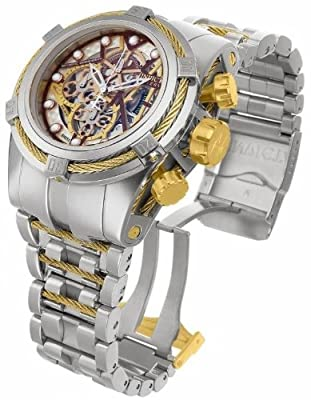 Invicta Mens 13663 Reserve Bolt Zeus Dubois Depraz Swiss Automatic Stainless Steel Watch