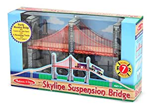 Melissa & Doug Skyline Suspension Bridge
