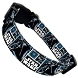 Mirage Darth Vader Dog Collar Large