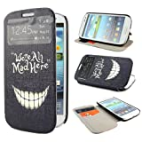 TUTUWEN E64 Painting Art Design PU leather Flip Cover Case for Samsung Galaxy S3 III i9300