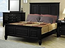 Hot Sale Sandy Beach Black Queen Bed By Coaster Furniture