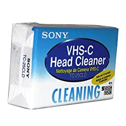 Sony Vhs-c Clean Cass 1 Bag Tc25cld1b