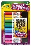 Crayola Mädchen Airbrush Marker und Schablone Pack hergestellt von Binney & Smith