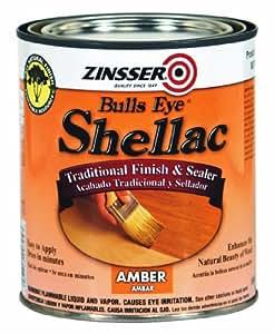 Rust-Oleum Zinsser 708 1-Pint Bulls Eye Amber Shellac
