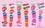 6-PACK-Peel-Off-Colored-Lip-Stain-Gloss-FREE-BONUS-For-You-Kraft-Sticker-Label-Sheet-Variety-of-SIX-Luscious-Sexy-Colors