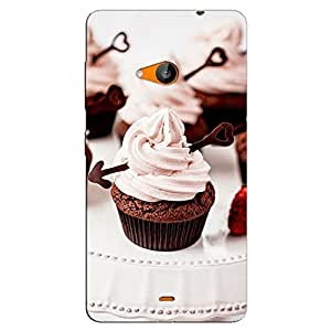 CUP CAKE BACK COVERFOR MICROSOFT LUMIA 535