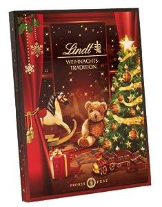 Lindt & Sprüngli Weihnachts-Tradition Adventskalendar, 1er Pack (1 x 250 g)