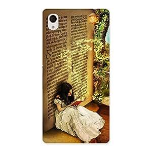 Impressive Secrate Book Multicolor Back Case Cover for Sony Xperia M4