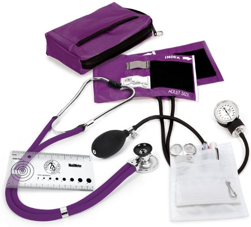 Prestige Medical Sprague/Sphygmomanometer Nurse Kit, Purple