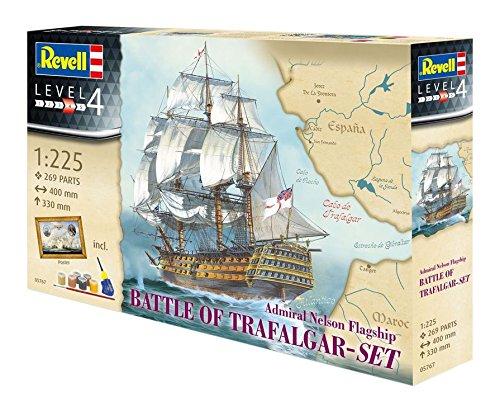 revell-05767-maquette-bateau-coffret-cadeau-bataille-de-trafalgar