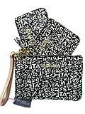 Victorias Secret Supermodel Cosmetic Case Bag 3 Piece Gift Set Black Logo