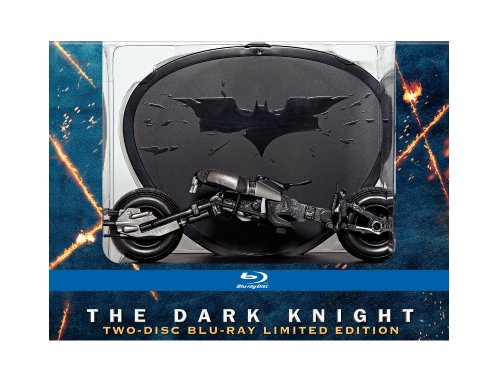 Cover art for  The Dark Knight (Limited Edition with Batpod) [Blu-ray]