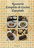 img - for Recetario Completo de Cocina Espanola (Spanish Edition) book / textbook / text book