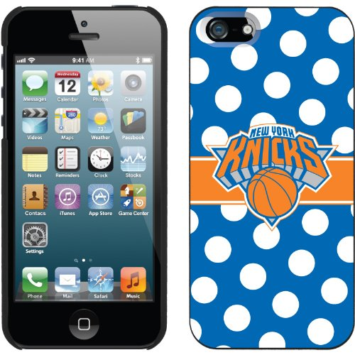 Great Price New York Knicks - Polka Dots 2 design on a Black iPhone 5s / 5 Thinshield Snap-On Case by Coveroo